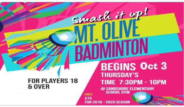 Mt. Olive Badminton Information