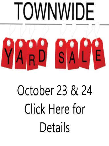 Townwide Yard Sale